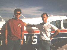 Me, Steve and G-AVSF