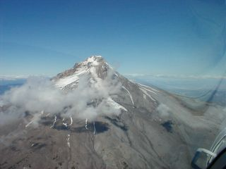 Approaching the Mount Hood Summit